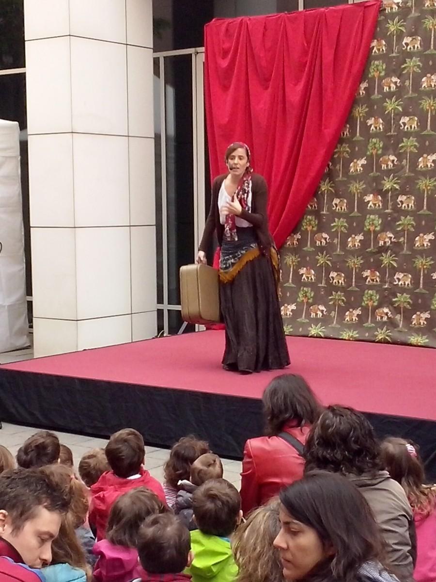 La llegenda de Sant Jordi al Món LLibre 2014